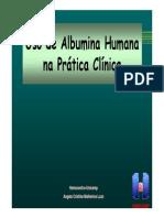 Albumina Na Pratia Clinica