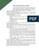Aturan Penulisan Naskah Publikasi