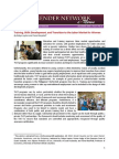 Training, Skills Development, and Transition to the Labor Market for Women