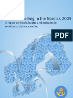 Distance Selling Nordics 2009