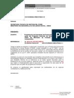 1.- Oficio a Directora PNSU