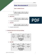 Ejercicios+Redes(3) Direccionamiento+Ip