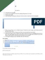 Microsoft Office Word 2007 Edit