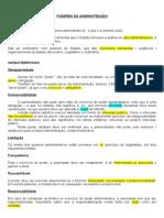 Administrativo - 5 - Poderes da Administração