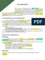 Administrativo - 6 - Atos Administrativos