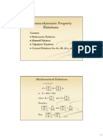 4 Thermo Property Relations