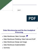 Chapter 1 Datawarehouse