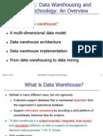 Chapter 1 Part 1 DataWarehouse