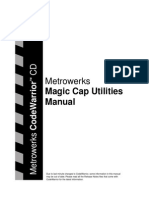 Metrowerks Magic Cap Utilities Manual
