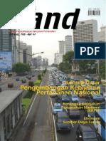LAND. Media Pengembangan Kebijakan Pertanahan Edisi Feb-April 2007. Konsep Dasar Pengembangan Kebijakan Pertanahan Nasional