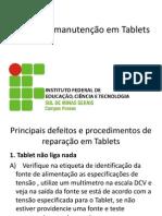 Aula - Dicas de manutenção em Tablets