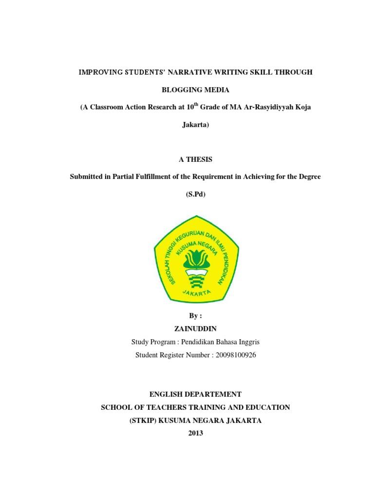 Contoh Proposal Bahasa Inggris Tentang Reading Comprehension Pdf Pigura