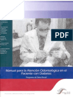Manual Atencion Odontologica en El Paciente Con Diabetes