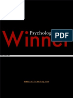 Psycology of a Winner