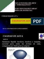 U.T.3 CALIDAD De H2O