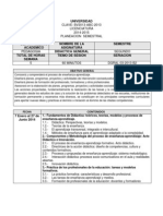 Plan Semestral Didactica General