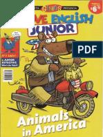 I Love English Junior Nº 4 _ Animals in Americ
