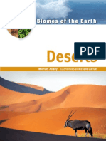 Biomes of the Earth Deserts