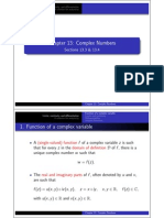 Complex Numbers 3 4 Handout 1x2