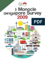 Monocle Singapore Survey 2009