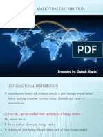 International Marketing Distribution