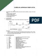 Pedoman Pelabelan Jaringan Fiber Optik