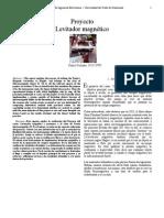 Proyecto Levitador