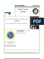 Rotary Bulletin Vol. 50 - Iss. 8a - 30-08-09