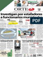 Periódico Norte de Ciudad Juarez 19 de Diciembre de 2013