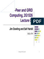 Peer-to-Peer Computingd GRID Peer-To-Peer Computing
