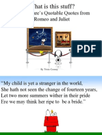 R and J quotes