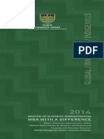 2014 MBA Brochure_Green