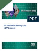 SAP DB2 on DB2 Administration