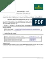 Procedimiento Fiscal - Cancelacion de Inscripcion