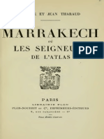 Tharaud Jerome Et Jean - Marrakech Ou Les Seigneurs de l Atlas