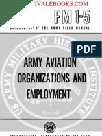 1959 US Army Vietnam War Army Aviation Organizations & Employment 256p