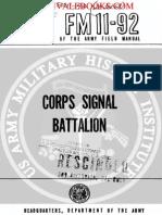 1959 US Army Vietnam War Corps Signal Battalion 65p