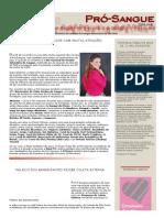 Jornal Prosangue 2013
