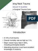 Trauma Leher - Dr Drajat