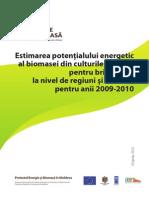 Estimarea Potentialului Energetic Biomasa