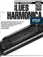 Teach Yourself Blues Harmonica 10 Easy Lessons Peter Gelling
