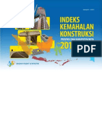 Indeks Kemahalan Konstruksi Provinsi Dan Kabupaten Kota 2012