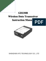 GD230B User's Manual