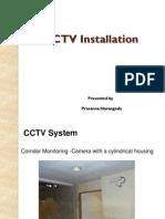 CCTV Actual Installation