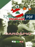 Cardápio Beirute (Bar e Restaurante)