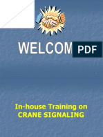 In-House Training on Signaling