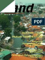 LAND. Media Pengembangan Kebijakan Pertanahan Edisi Agt-Okt 2007. Hak Atas Tanah dalam Hukum Tanah Nasional