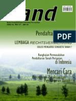 LAND. Media Pengembangan Kebijakan Pertanahan Edisi Nov 2007-Jan 2008. Pendaftaran Tanah