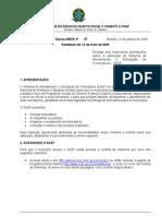 Instrução Operacional SASF reeditada