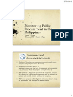 Monitoring Public Procurement in the Philippines-(TAN)